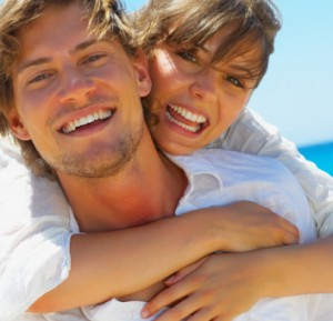 Happy Couple After Root Canal Treatment - The Fort Collins Dentist